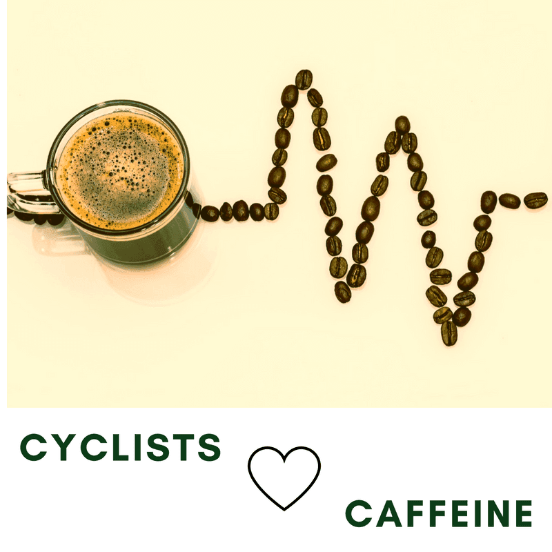 what are the benefits of caffeine for cyclists